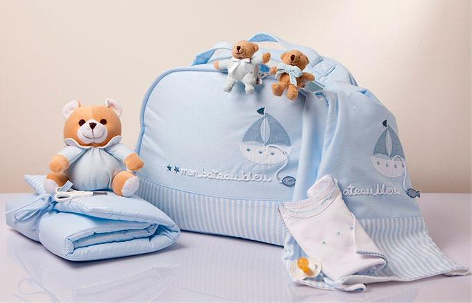 Bolsa para llevar al hospital para dar a luz