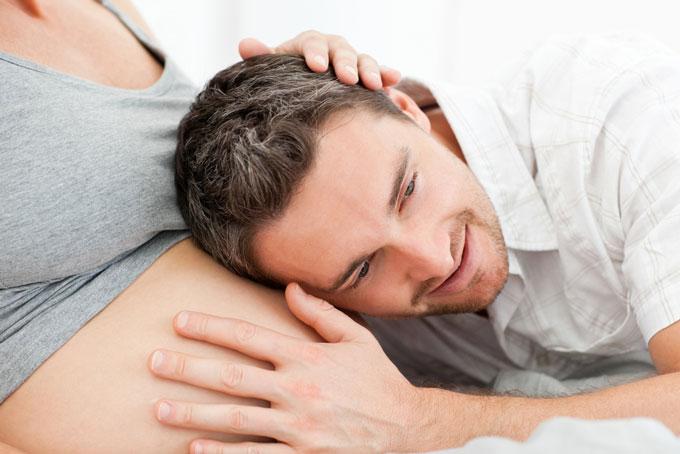 El apoyo emocional de la pareja en el embarazo