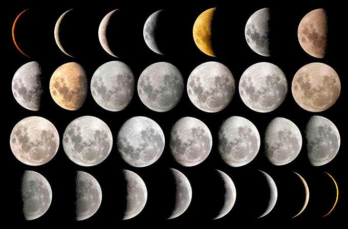 la influencia de las fases lunares en los nacimientos