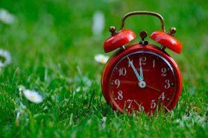 La dulde espera, el reloj