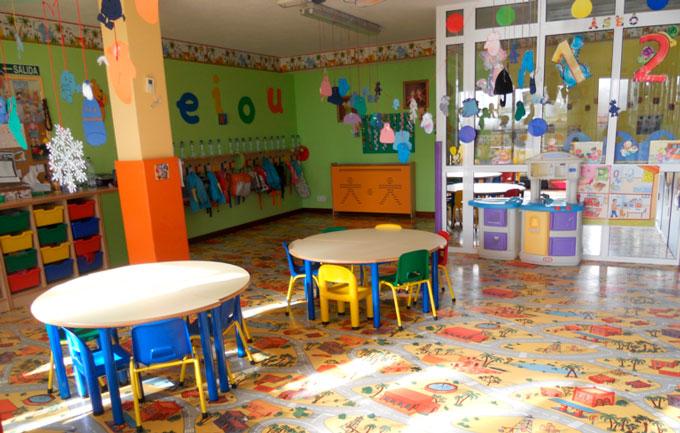 instalaciones de una escuela infantil