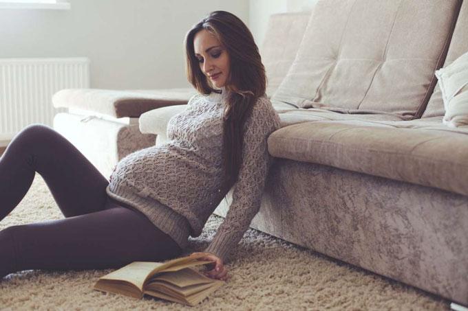 Semana 39 de embarazo. Procura descansar y estar tranquila.