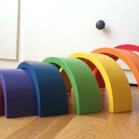 arco iris metodo montessori